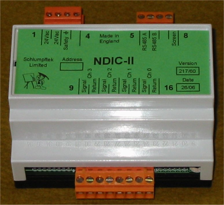 Cigol Controls Limited, C++, NDIC-II