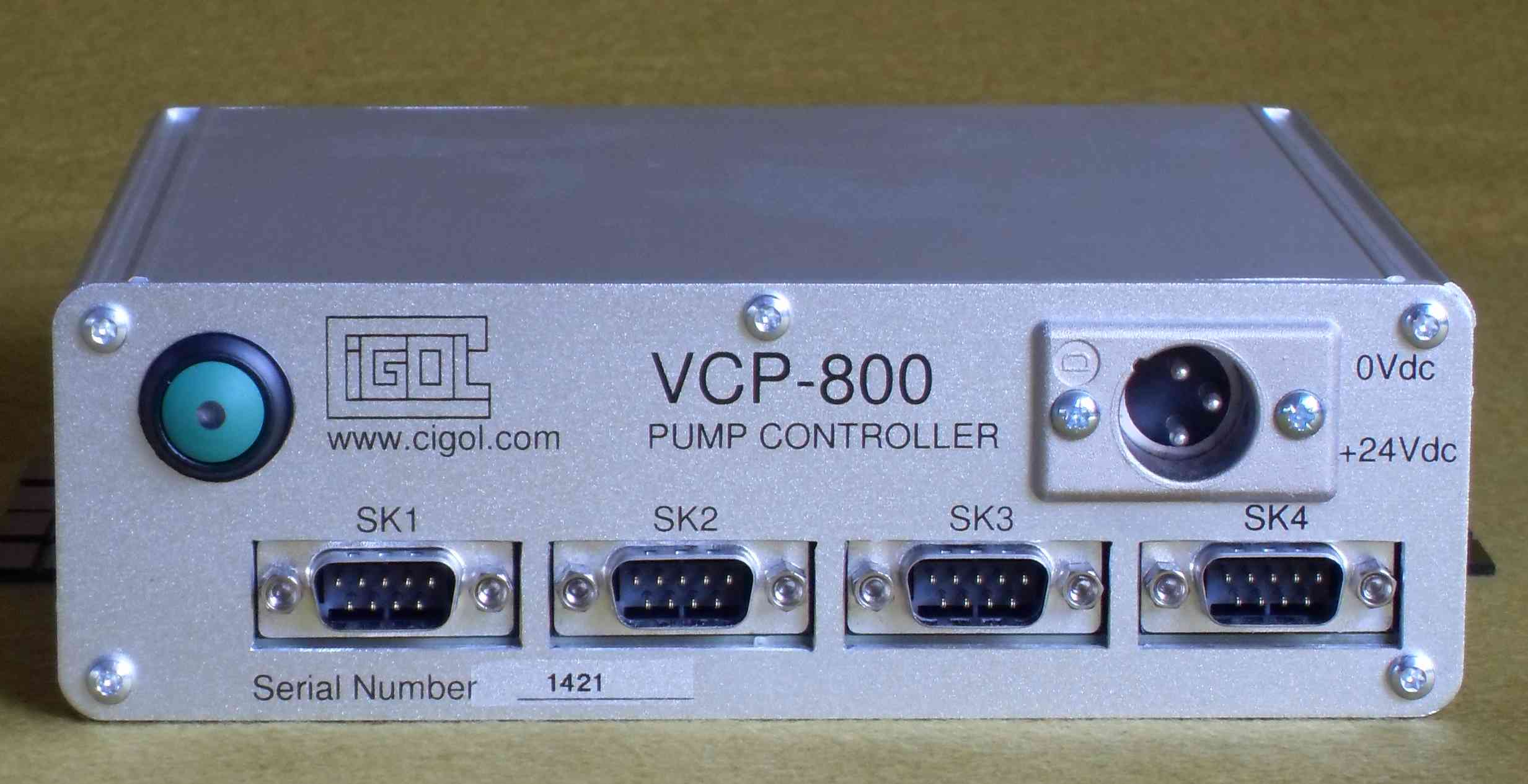 Photograph of VCP-800